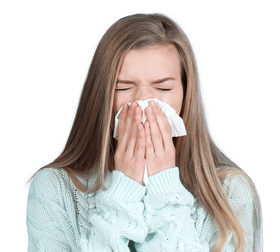 Allergy Clinic Temple TX Woman with Allergies